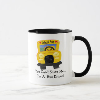 Bus Driver Scare (customizable) Mug