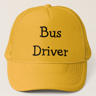 Bus Driver Trucker Hat