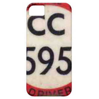 BUS DRIVER UK BADGE RETRO iPhone 5 CASE