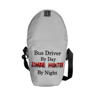 Bus Driver/Zombie Hunter Courier Bags