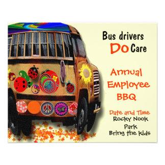 Bus Drivers Annual BBQ 11.5 Cm X 14 Cm Flyer