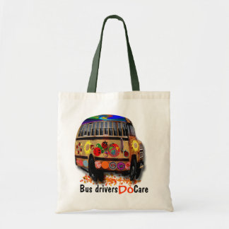 Bus Drivers Do Care Budget Tote Bag