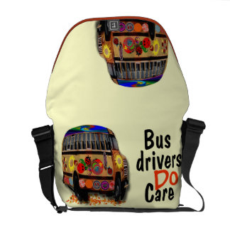 Bus Drivers Do Care Commuter Bag