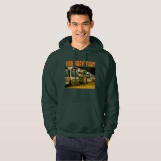 Bus Graveyard Men's Basic Hooded Sweatshirt