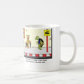 Bus Ride: Tortoise cartoon Coffee Mug