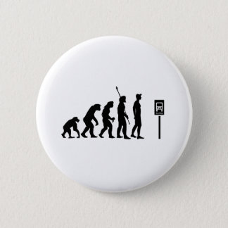 Bus Stop Evolution 6 Cm Round Badge