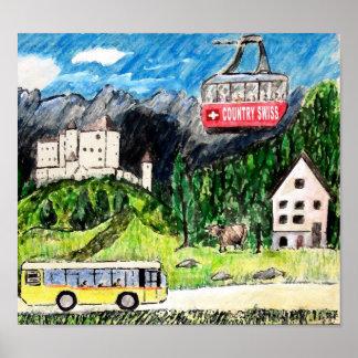 Bus Tour Poster