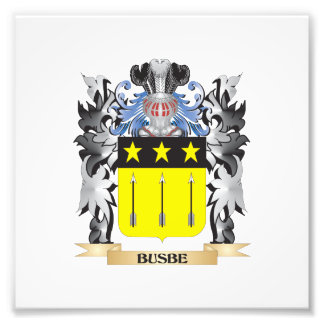 Busbe Coat of Arms - Family Crest Photo
