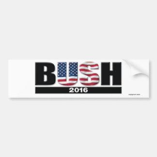 Bush 2016 bumper sticker