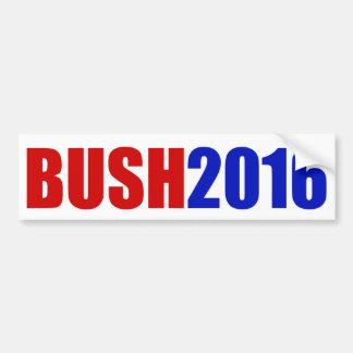 """""""BUSH 2016"""" BUMPER STICKER"""