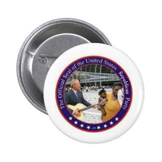 Bush 6 Cm Round Badge