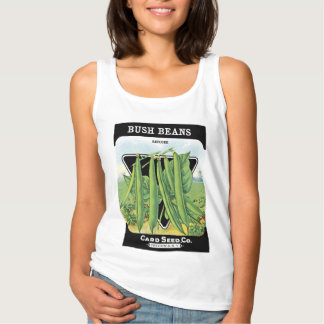 Bush Beans Seed Packet Label Singlet