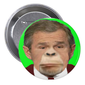 Bush Chimp Button