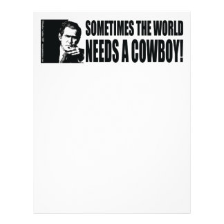 Bush Cowboy Personalized Flyer