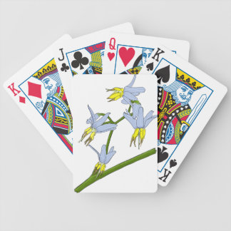 Bush Flowers Bicycle Playing Cards