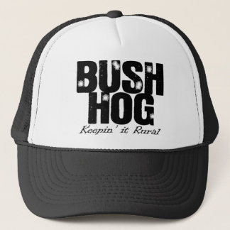 Bush Hog Trucker Hat