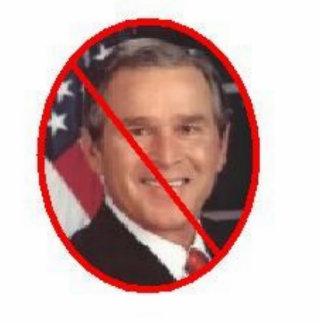 Bush Photo Sculpture Key Ring