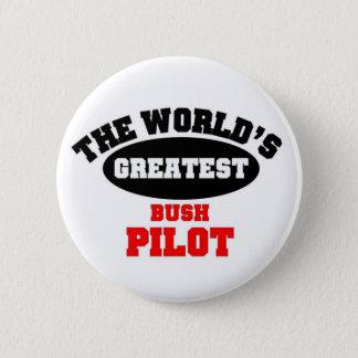 Bush Pilot 6 Cm Round Badge