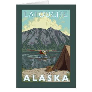 Bush Plane & Fishing - Latouche, Alaska Card