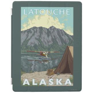 Bush Plane & Fishing - Latouche, Alaska iPad Cover