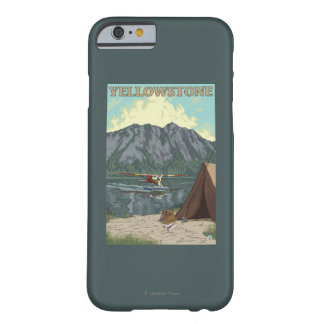 Bush Plane & Fishing - Yellowstone National Barely There iPhone 6 Case