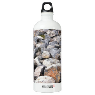 Bush setting of man made rock formation pattern SIGG traveller 1.0L water bottle