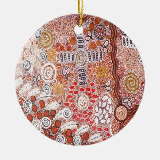 Bush Tucker Ceramic Ornament