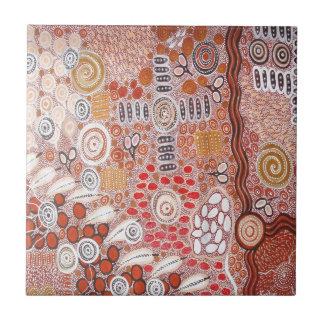 Bush Tucker Ceramic Tile