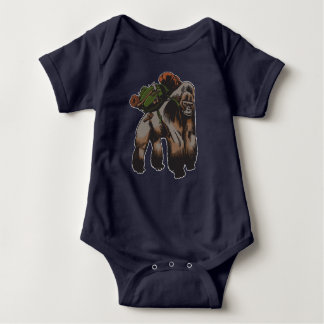 Bushcraft Gorilla Baby Bodysuit