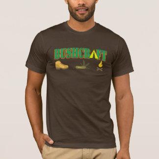 bushcraft logo tshirt