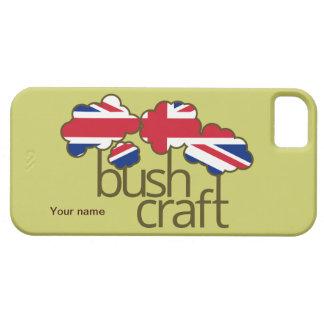 Bushcraft United Kingdom flag Barely There iPhone 5 Case