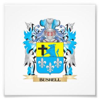 Bushell Coat of Arms Photo Art