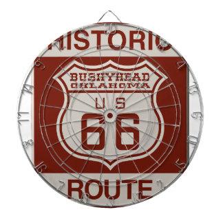 BUSHEYHEAD66 DARTBOARD