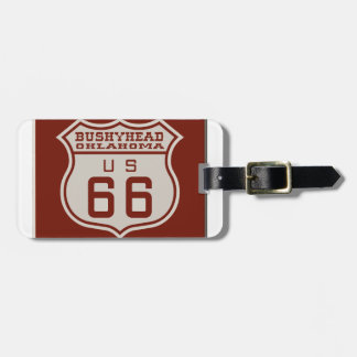BUSHEYHEAD66 LUGGAGE TAG