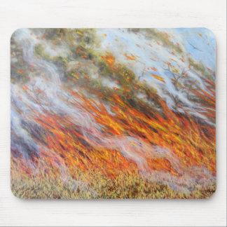 Bushfire Inferno 2014 Mouse Pad