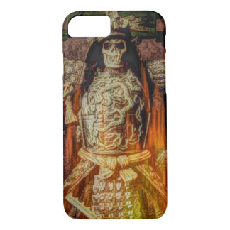 bushido Japanese samurai armor samurai skull iPhone 8/7 Case