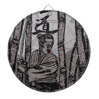Bushido Moon  by Cartrer L. Shepard Dartboard