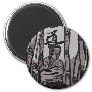 Bushido Moon  by Cartrer L. Shepard Magnet
