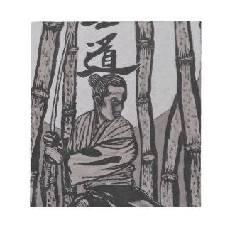 Bushido Moon  by Cartrer L. Shepard Notepad