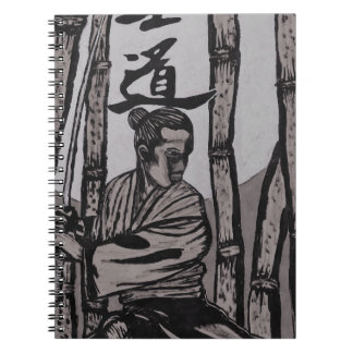 Bushido Moon  by Cartrer L. Shepard Spiral Notebook