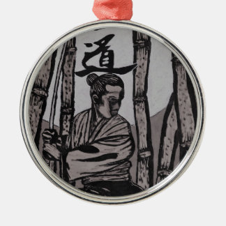 Bushido Moon light Metal Ornament