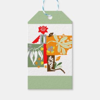 Bushland flora - Gift tag