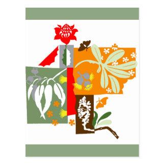 Bushland Flora - Giftcard Postcard