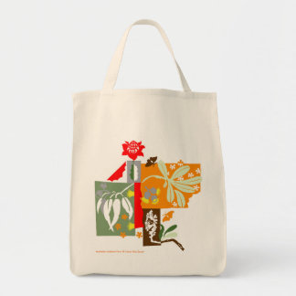 Bushland Flora - Grocery Tote