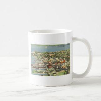 Businear District And Waterboat Sandusky, Ohio, V Coffee Mug