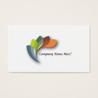 "Business, 3.5"" x 2.0"", 100 pack MULTICOLOR LOGO Business Card"