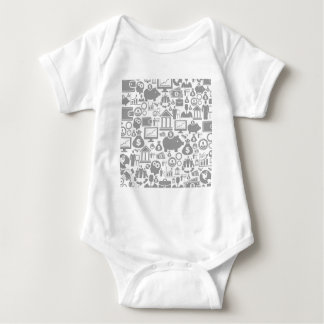 Business a background7 baby bodysuit