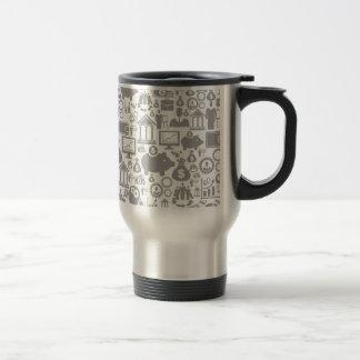 Business a background7 travel mug