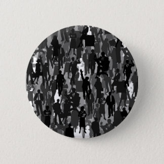 Business a background 6 cm round badge