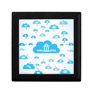 Business a cloud3 gift box